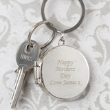 Personalised Round Photo Keyring-Dcaro Personalised Gifts