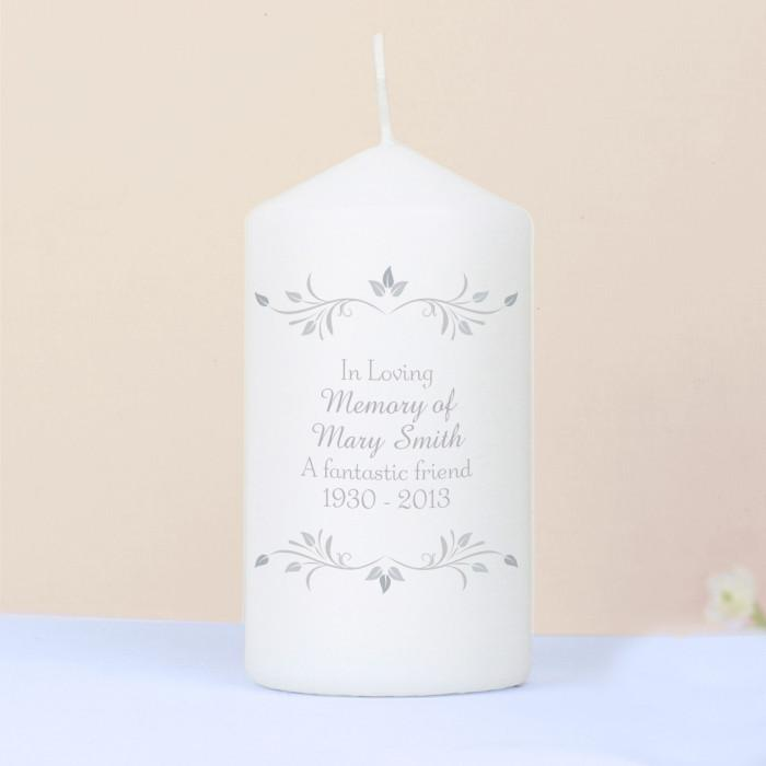 Personalised Sentiments Candle-Dcaro Personalised Gifts