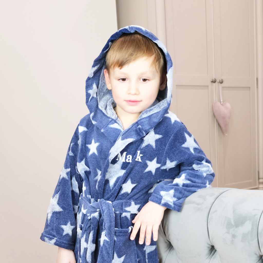 personalised dressing gown for kids
