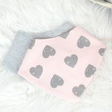 Pack of 2 Bandana Baby Bibs For Girl