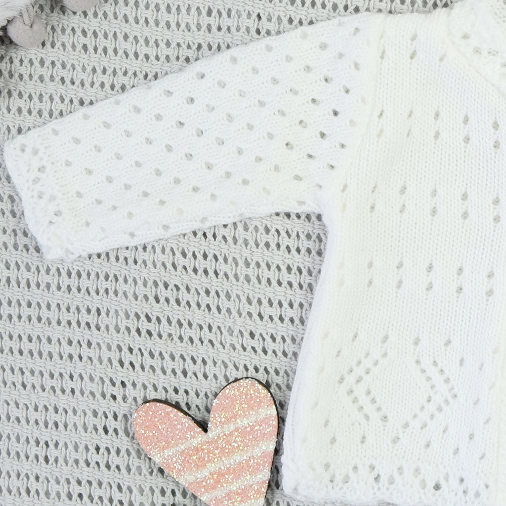 Newborn Baby Knitted Cardigan