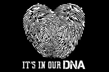 7148666 YES - YOU MAKE YOUR OWN COUPLE'S DNA ART!!  SUPERB - YOU CHOOSE THE DESIGN!! (Perfect For You and Your Partner)!!