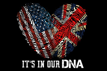 1022417148690 USA-UK DNA (Perfect For You and Your Partner)!!