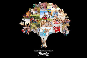 Family Tree - Yes, You design your Own Custom Collage!!