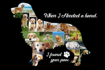Golden Retriever - Yes, You design your Own Custom Collage!!