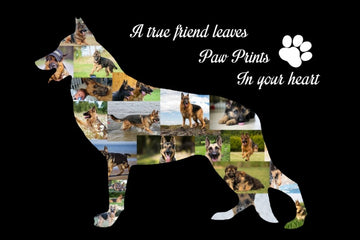 German Shepherd - Yes, You design your Own Custom Collage!!