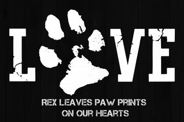 417149067 Personalized Doggy Pawprints Footprints on our Hearts