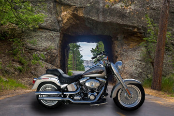 3. 417149186 - Iron Mountain Road & Pigtail Bridge - Yes!!  You Place/Swap a Image of Your Own MOTOR CYCLE  Art Here- Just Add this Template Image to your Cart Then Send Us the Photo Of Your Own Bike!! We Do the Rest!!
