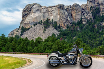 3. 417149187 - Mount Rushmore, National Memorial -  Yes!!  You Place/Swap a Image of Your Own MOTOR CYCLE  Art Here- Just Add this Template Image to your Cart Then Send Us the Photo Of Your Own Bike!! We Do the Rest!!
