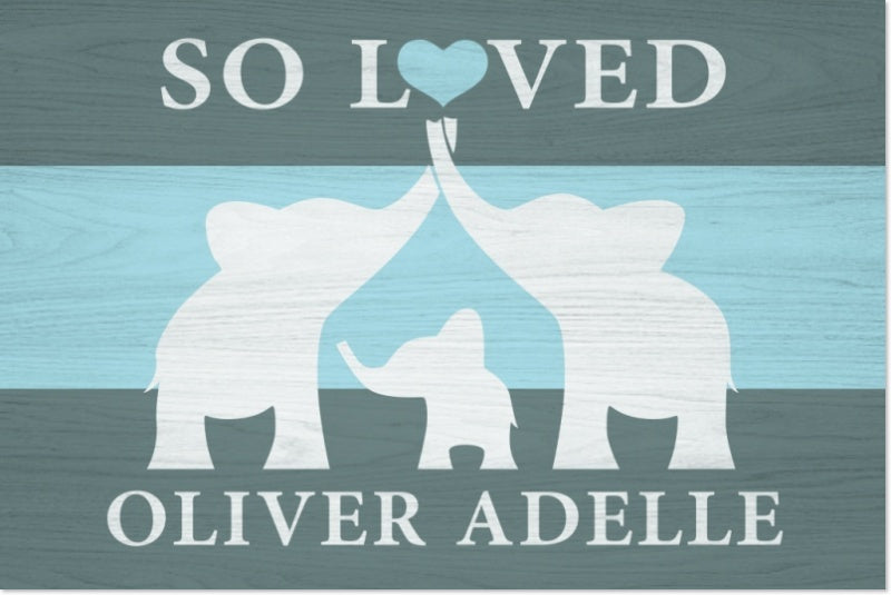 Baby Boy Art | Baby Boy Souvenirs | Personalized Baby Gifts | MacJac ...