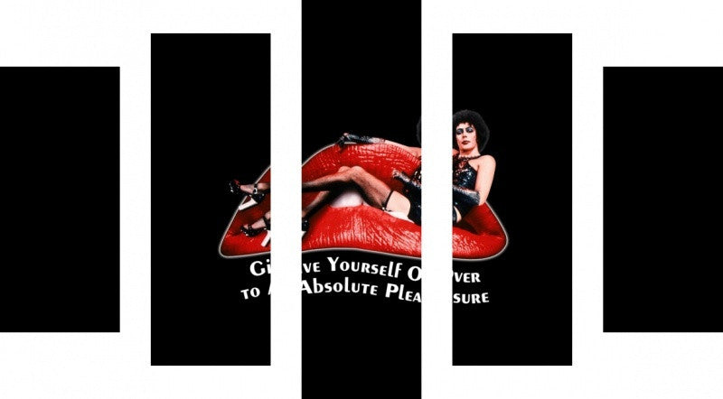 MacJac Art 5 Panel CANVAS Rocky Horror Show Theme Wall Art Photography Prints Model 5PC-AL-417127