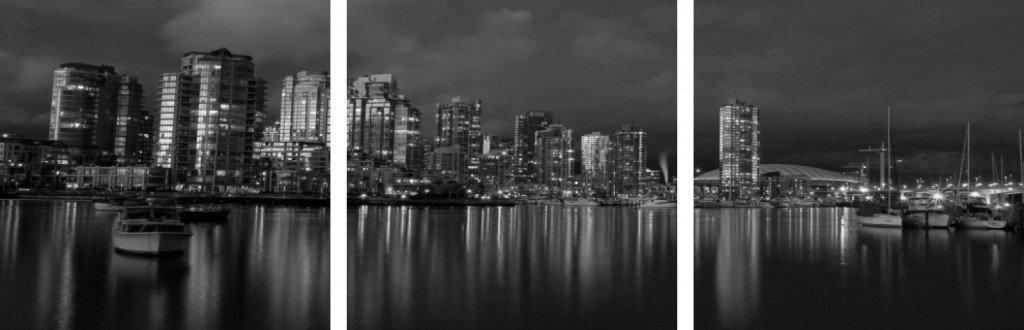 MacJac Art 3-Panel VINYL Vancouver Theme Wall Art Photography Prints Model AL-0152