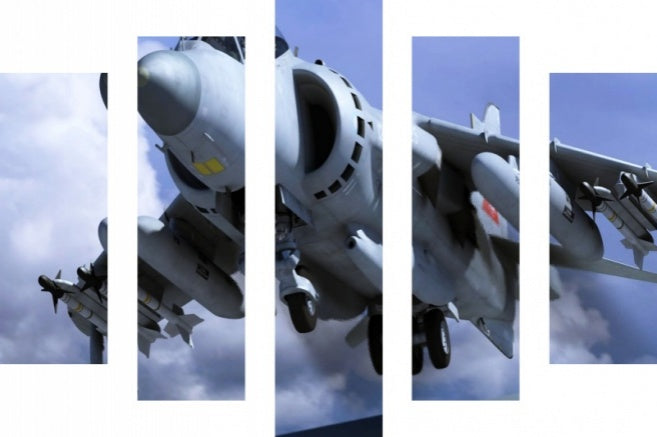5PC AL 417148861   Military Plane British Aerospace Sea Harrier