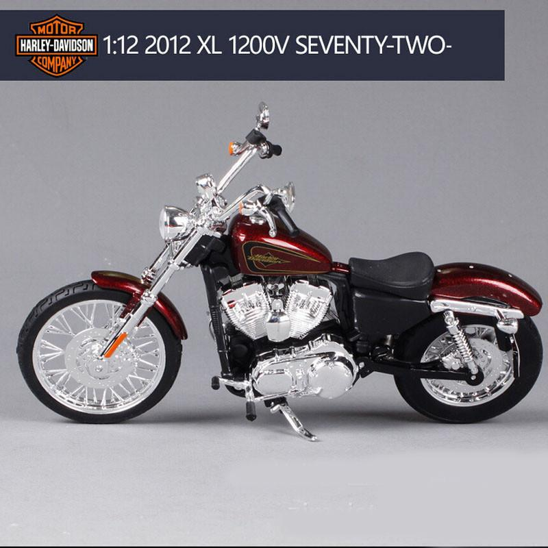 1:12 Scale Harley 2012 XL 1200V Motorcycle