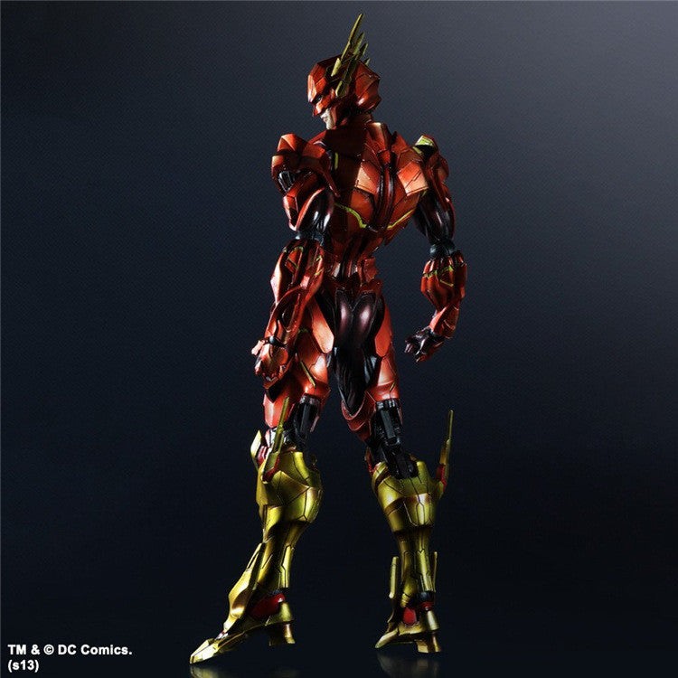 "Kai Flash Action Figures  - The Flash Armor 9.84"" Inches 25cm"