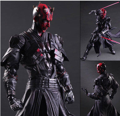 "Darth Maul - Star Wars - Action Figure 10.63"" Inches 27cm"