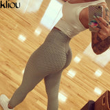 Kliou Fitness Leggings Pants