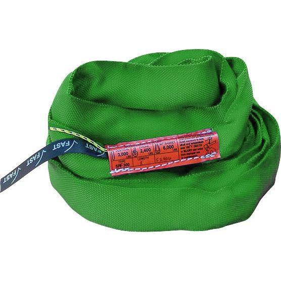 SPF 600 (Green) Polyester Round Slings - Plastics Solutions USA