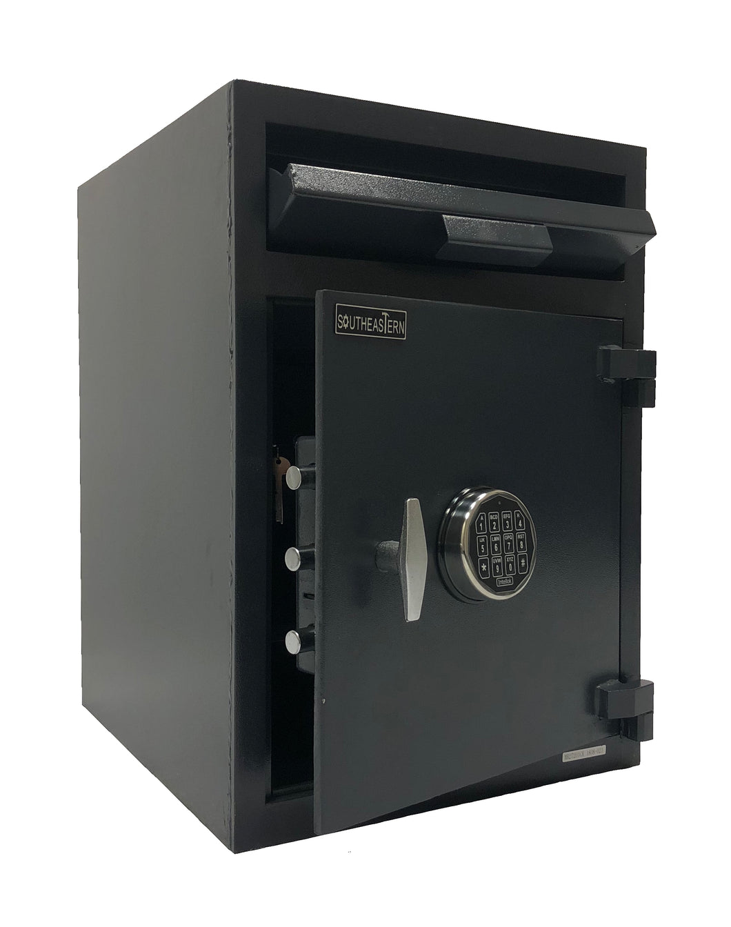 Southeastern F2820ILK Cashbag Drop Depository Safe with Quick Digital Lock w/Inner Dual Key Locker