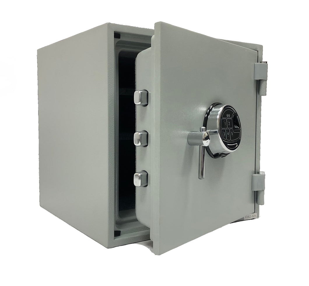 Southeastern Safe 2 hour fireproof safe box Biometric Fingerprint Lock and back up key