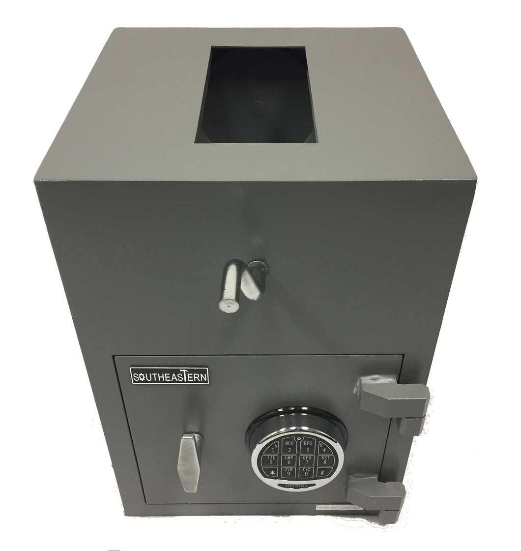 SOUTHEASTERN RH2014E Top Loading Drop Safe with Quick Digital Lock