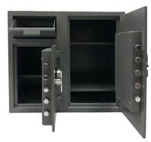 SOUTHEASTERN F2731EE 2 Door Cash bag Depository Drop Safe with High Security Digital Lock w/ back up key