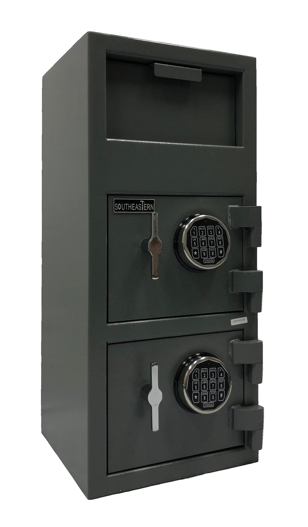 SOUTHEASTERN F3214EE Double Door Cash Drop Depository Safe with UL Listed Digital Lock