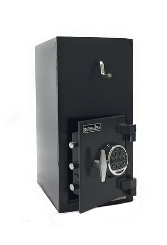 SOUTHEASTERN RH2410E Top loading drop slot depository safe with UL listed Quick Digital Lock
