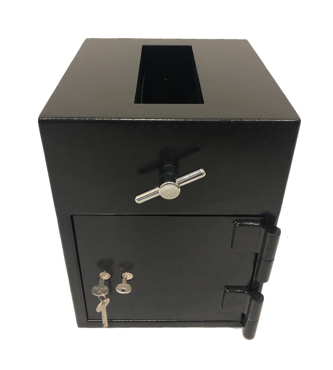 SOUTHEASTERN RH1612K Top Loading Drop Slot Depository Safe with dual key lock