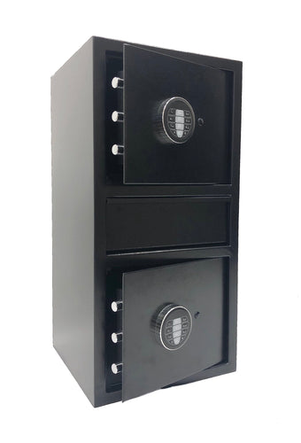 Southeastern F2814EEV Double Door Money Drop Slot Depository Safe with Quick keypad lock w/back up key