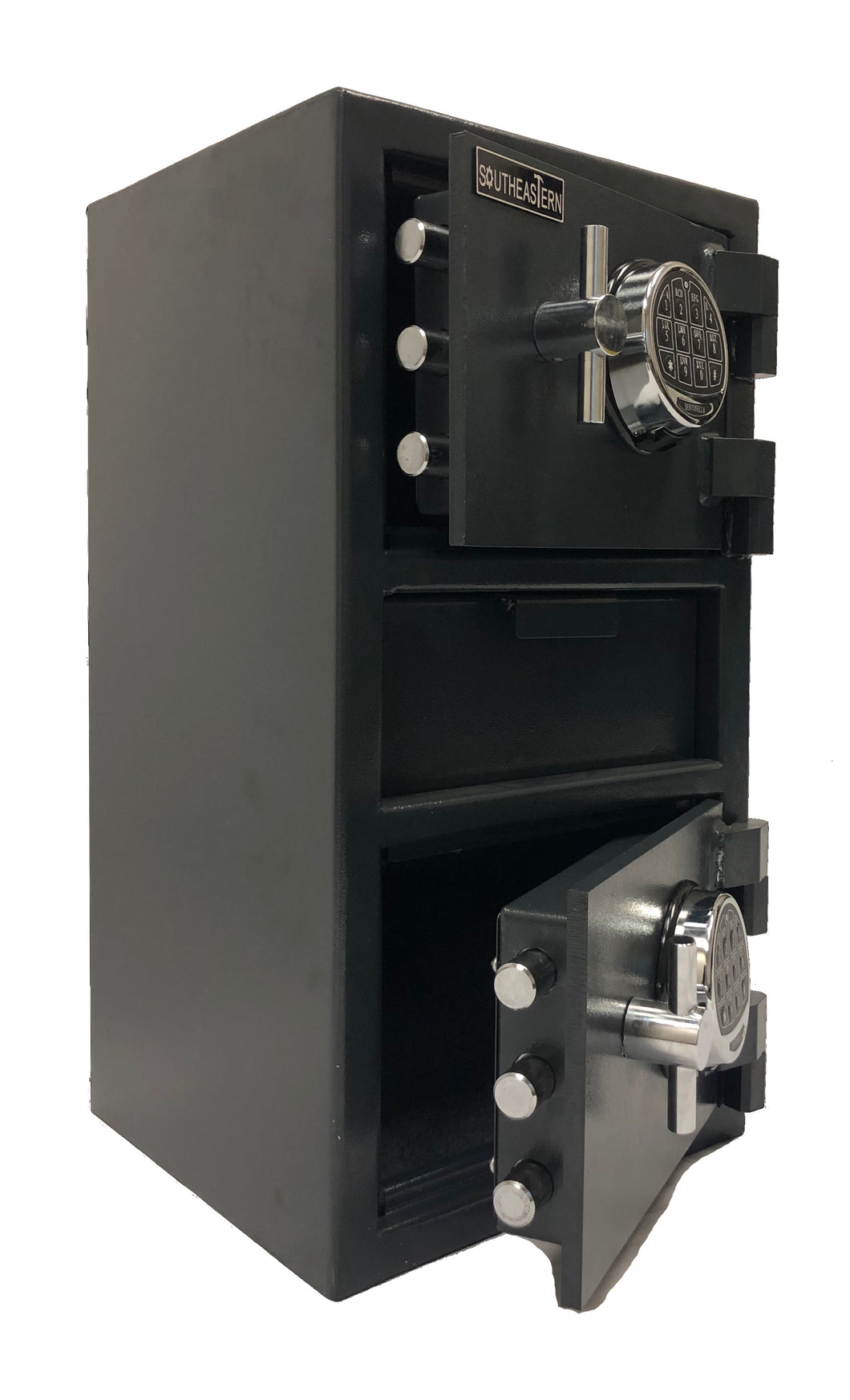 Southeastern F2714EEMD money drop depository security safe with digital lock with back up keys