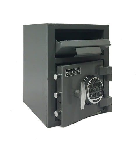 SOUTHEASTERN F1612E  Cash Drop Safe with Quick Digital Lock