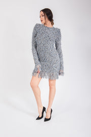 Balmain Tweed Knit Dress