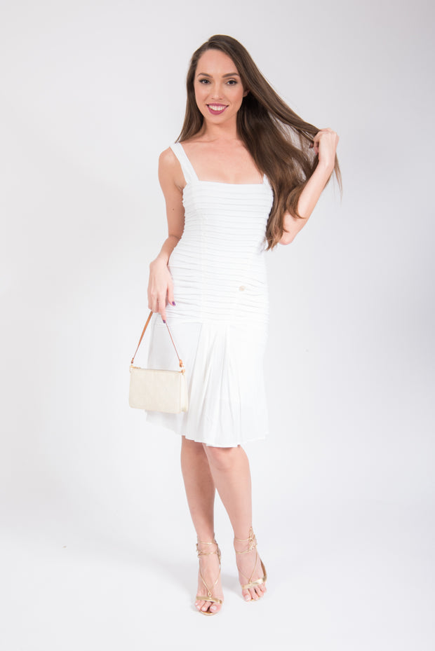 Roberto Cavalli Ribbed Dress
