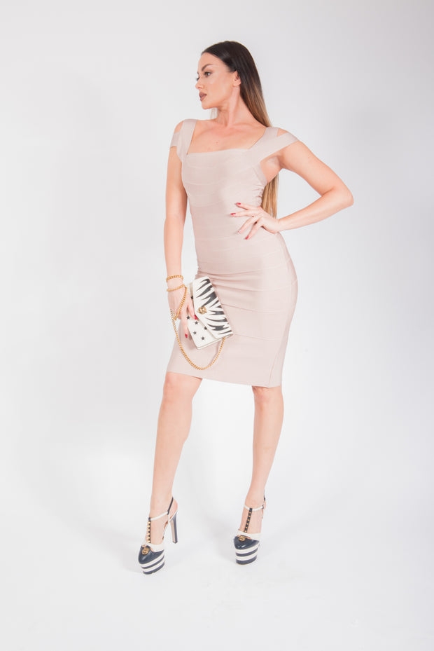 Herve Leger Bandage Cocktail Dress