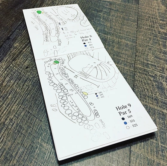 Yardage Book for YOUR Course