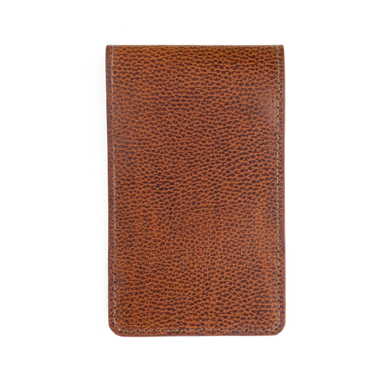 whiskey pebble yardage book cover front