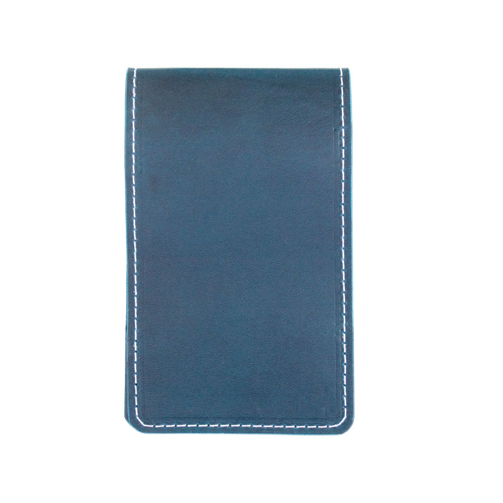 Pacific blue yardage book cover - front