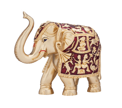 24 KarT GOLD & 999% PURE SILVER COATED ELEPHANTS