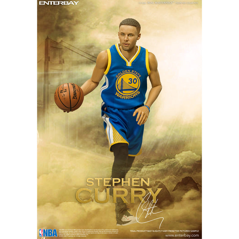 ENTERBAY 1/6 NBA Collection – Stephen Curry Action Figure
