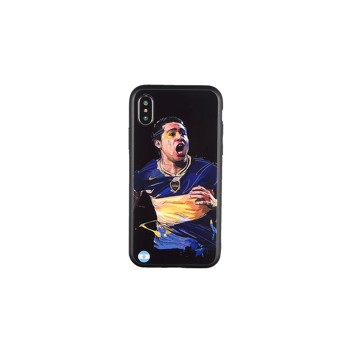 Juan Román Riquelme, Football Fandom iPhone Case