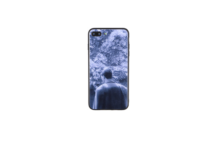 Back of KO CHUN, God of Gamblers Toughened Glass iPhone Case