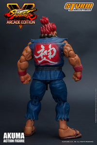 Storm Collectibles 1/12 Street Fighter V - Akuma / Gouki Action Figure (Nostalgia Costume)