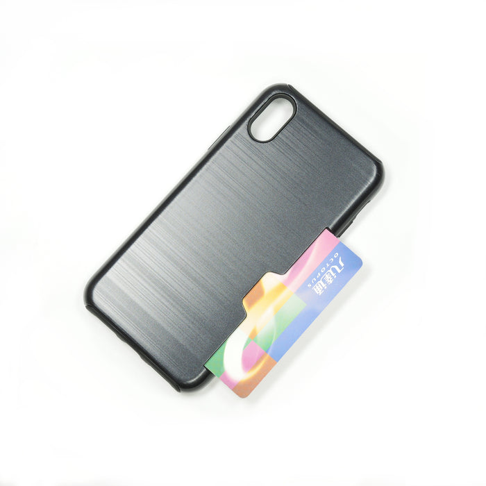 Side Card Insert, TWO in One iPhone Case
