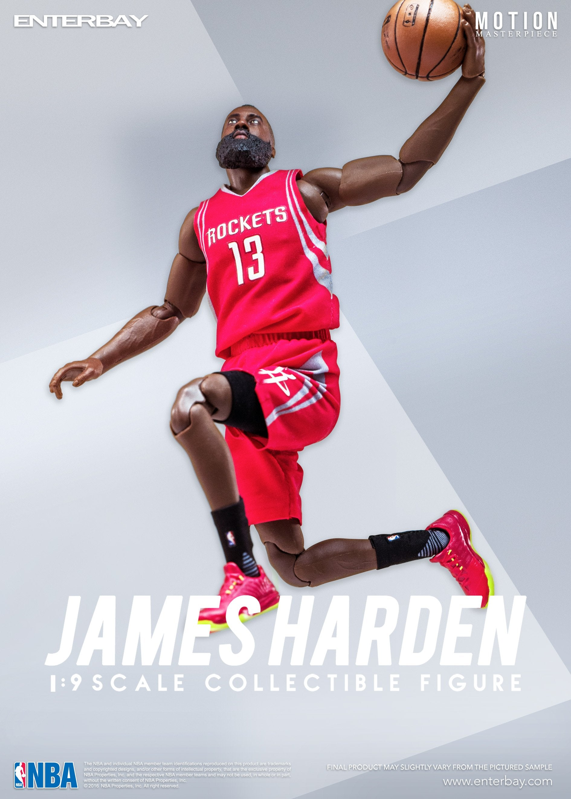 ENTERBAY 1/9 James Harden Action Figure
