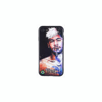 Neymar #4, Football Fandom Toughened Glass iPhone Case