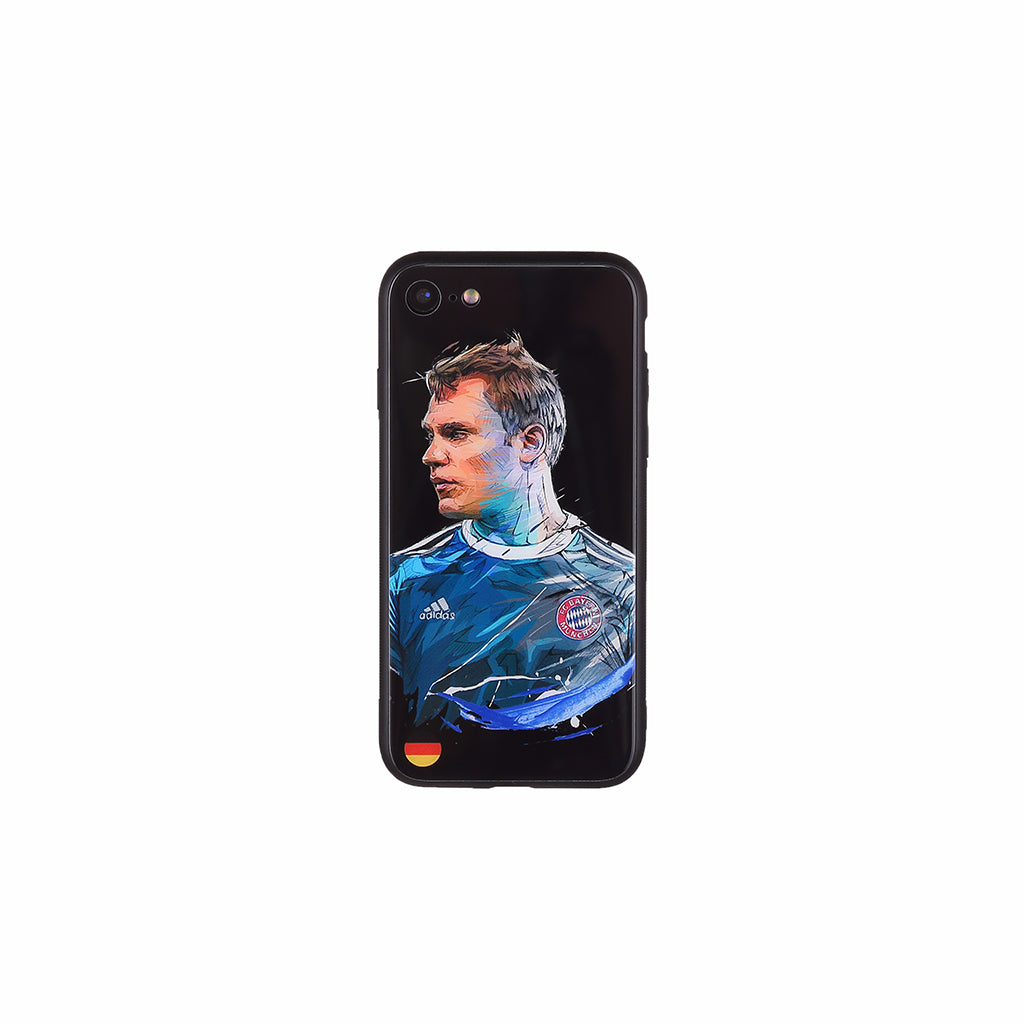 Manuel Neuer,  Football Fandom Toughened Glass iPhone Case