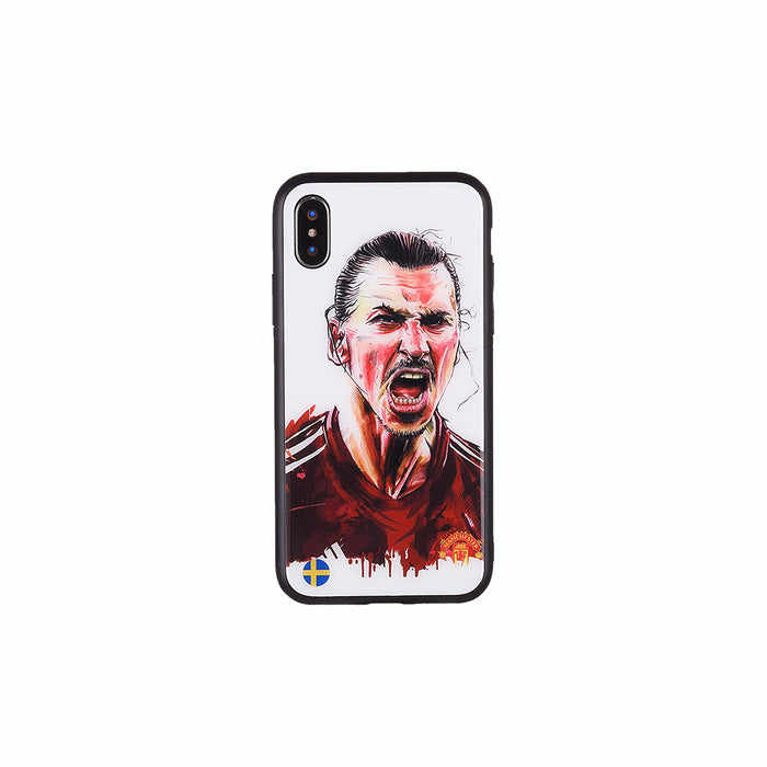 Zlatan Ibrahimović #3, Football Fandom Toughened Glass iPhone Case