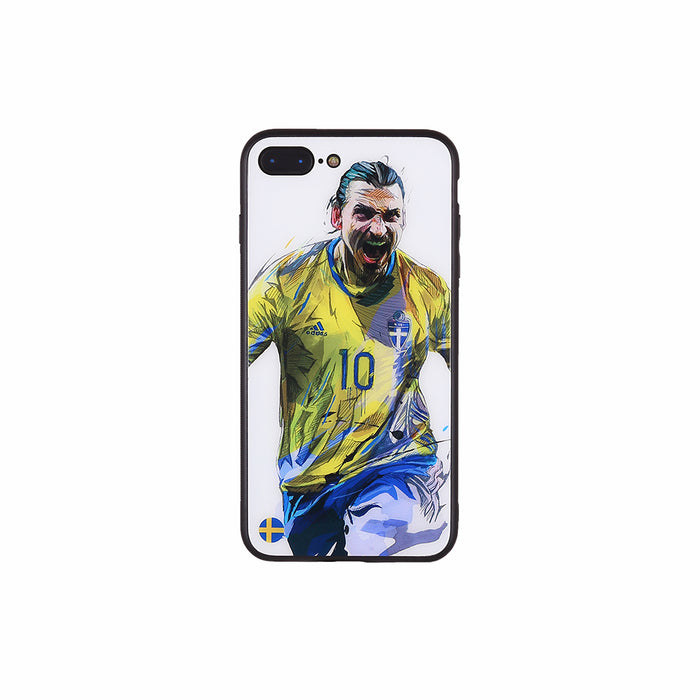 Zlatan Ibrahimović #2, Football Fandom Toughened Glass iPhone Case