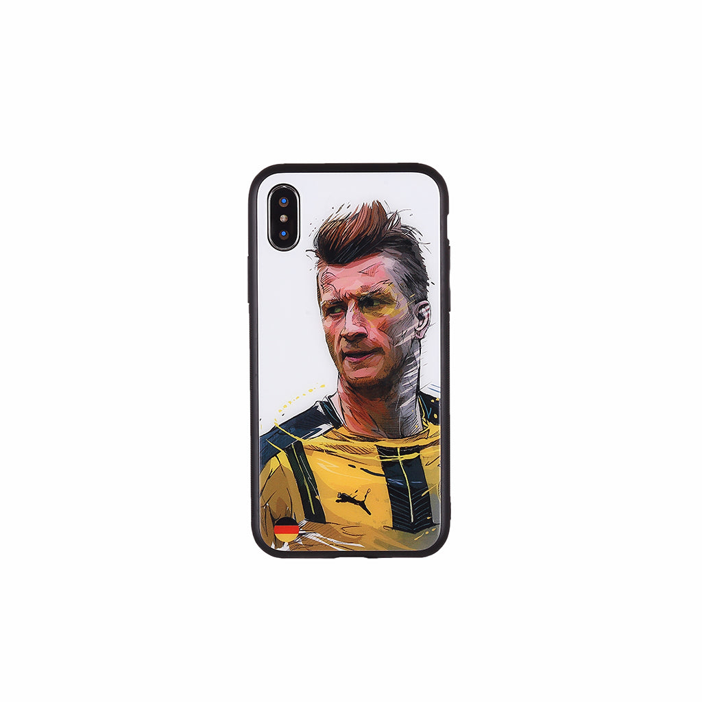 Marco Reus,  Football Fandom Toughened Glass iPhone Case